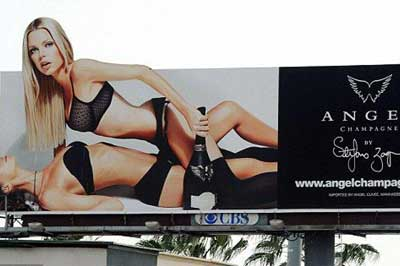Trafiği felç eden reklam