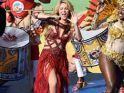 Shakiradan çılgın kapanış töreni!